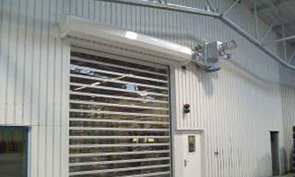 Warehouse curtain AS